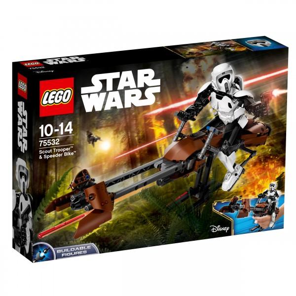 LEGO® Starwars 75532 Scout Trooper & Speeder Bike