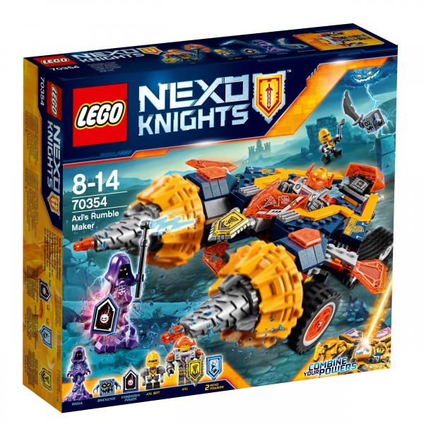 LEGO® Nexo Knights 70354 Axls Krawallmacher