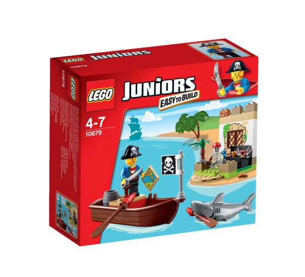 LEGO® Juniors 10679 Piraten-Schatzsuche