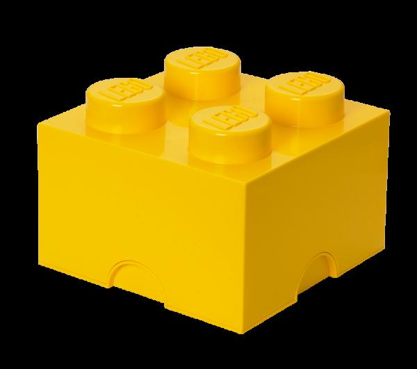 LEGO® Storage Brick 4 gelb