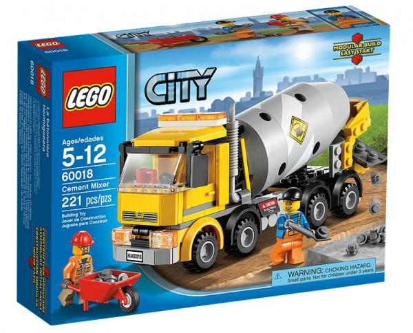 LEGO® CITY 60018 Betonmischer
