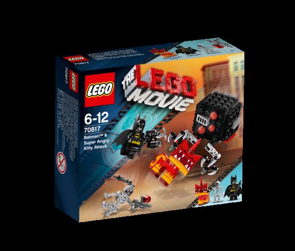 LEGO® Movie 70817 Batman & Super Kratz Kitty Attacke