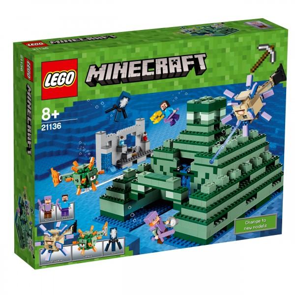 LEGO® Minecraft 21136 Das Ozeanmonument
