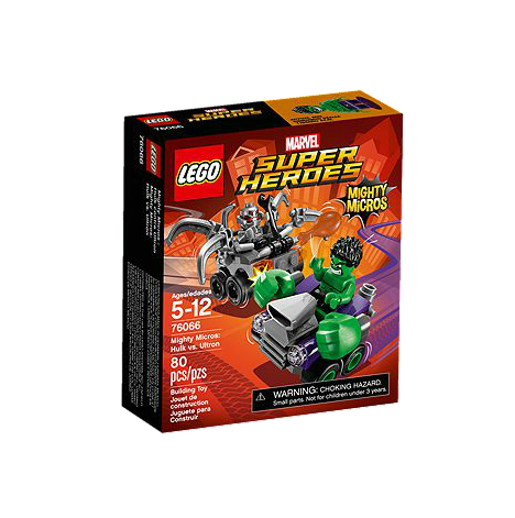 LEGO® Marvel Super Heroes 76066 Mighty Micros: Hulk vs. Ultron