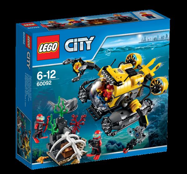 LEGO® CITY 60092 Tiefsee-U-Boot