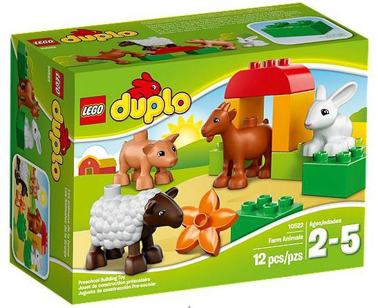 LEGO® DUPLO 10522 Bauernhof-Tiere