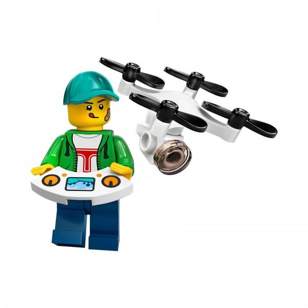 LEGO® Minifigur Serie 20 71027-16: Junge mit Drohne