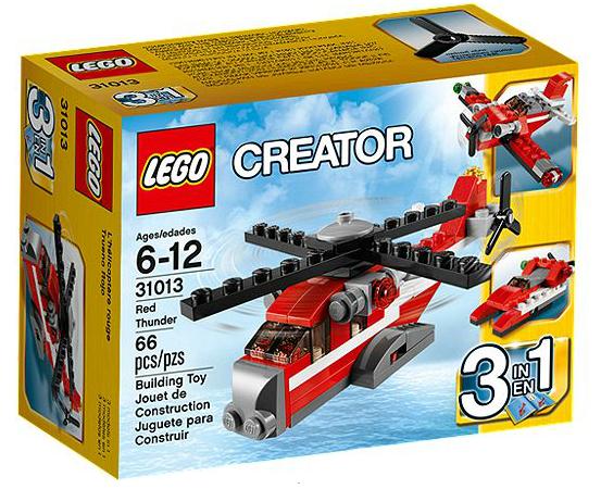 LEGO® Creator 31013 Roter Hubschrauber