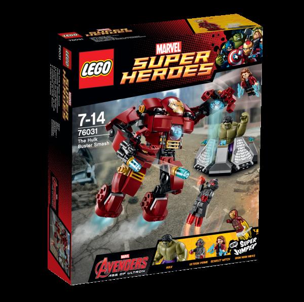 LEGO® Marvel Super Heroes 76031 Hulkbuster Rettungsmission