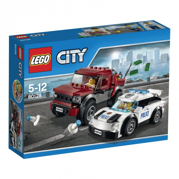 LEGO® CITY 60128 Polizei-Verfolgungsjagd