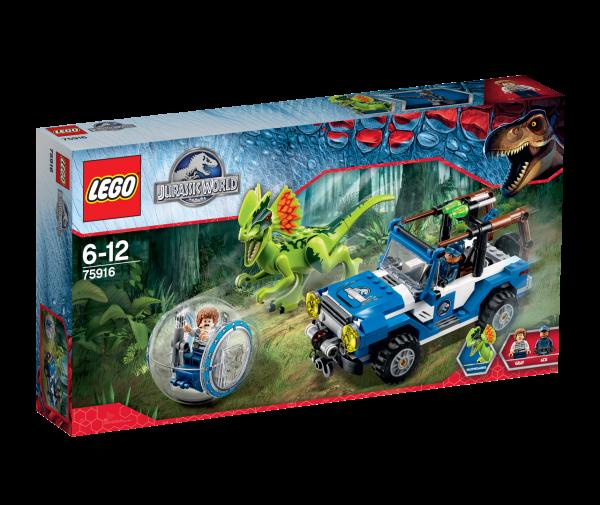 LEGO® Jurassic World 75916 Überfall des Dilophosaurus