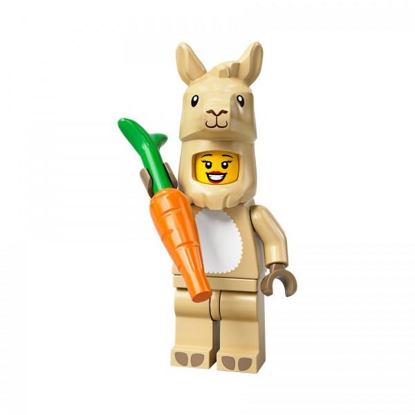 LEGO® Minifigur Serie 20 71027-07: Mädchen im Lamakostüm