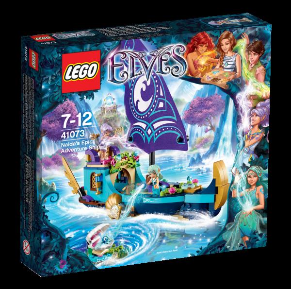 LEGO® Elves 41073 Naidas Abenteuerschiff
