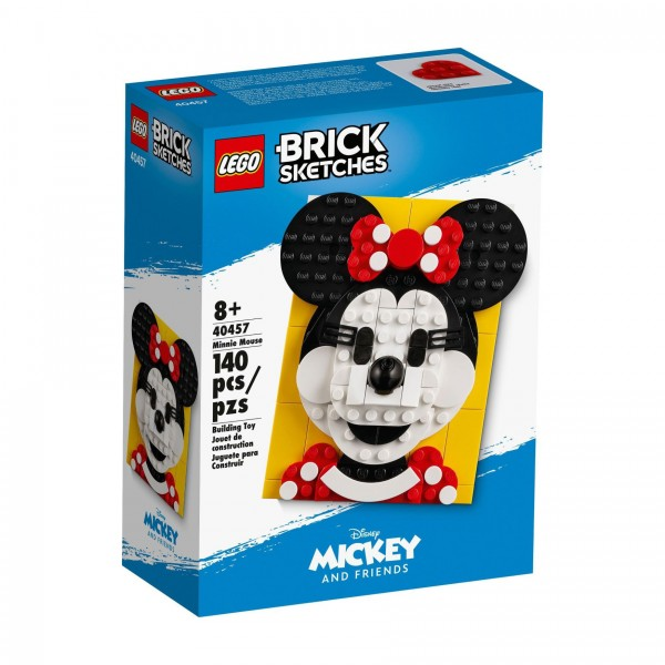 LEGO® Brick Sketches 40457 Minnie Maus