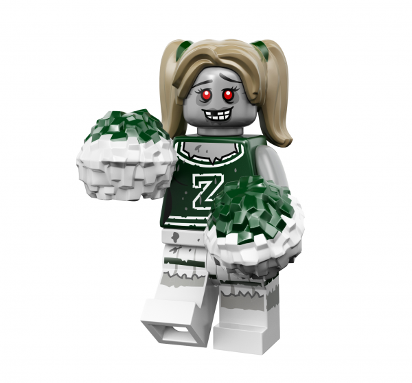 LEGO® Monster Minifigures Serie 14 - Zombie-Cheerleader 71010-08
