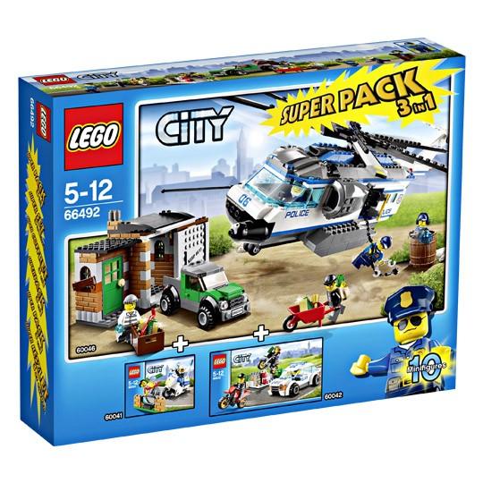 LEGO® CITY 66492 Polizei Superpack