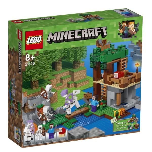 LEGO® Minecraft 21146 Die Skelette kommen!