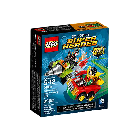 LEGO® DC Universe Super Heroes 76062 Mighty Micros: Robin vs. Bane