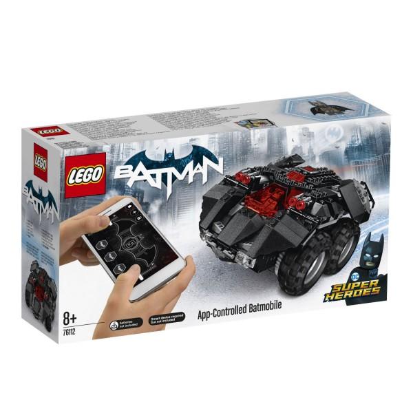 LEGO® DC Universe Super Heroes 76112 App-Gesteuertes Batmobile