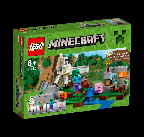 LEGO® Minecraft 21123 Der Eisengolem