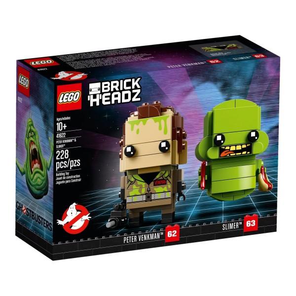 LEGO® BrickHeadz 41622 Peter Venkman & Slimer