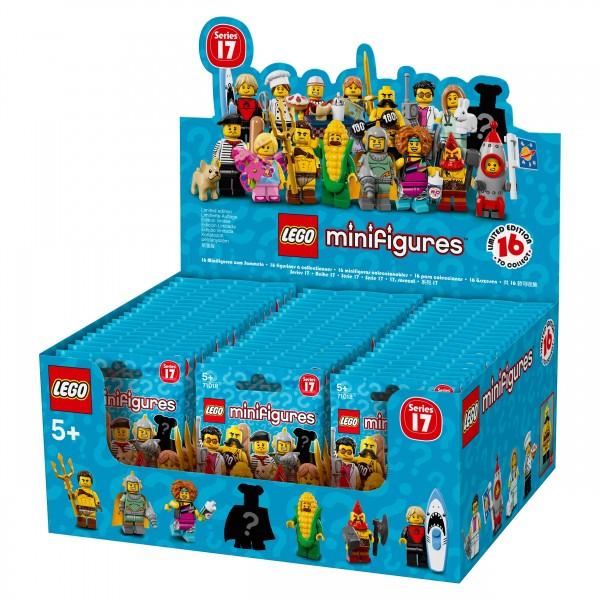 LEGO® 71018 Minifiguren Serie 17 Thekendisplay