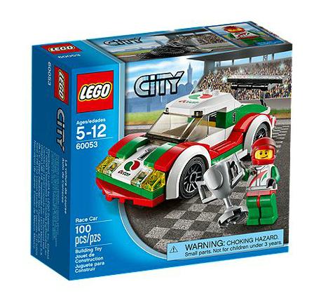 LEGO® CITY 60053 Rennwagen