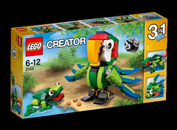 LEGO® Creator 31031 Regenwaldtiere