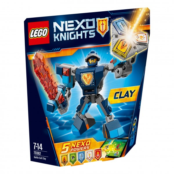 LEGO® Nexo Knights 70362 Action Clay