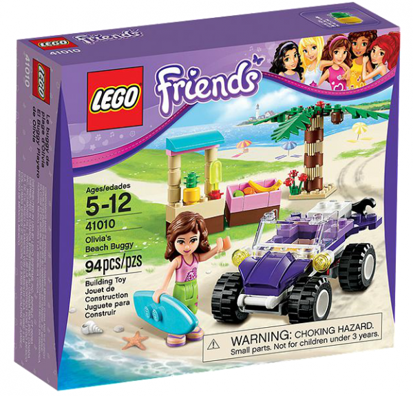 LEGO® Friends 41010 Olivias Strandbuggy