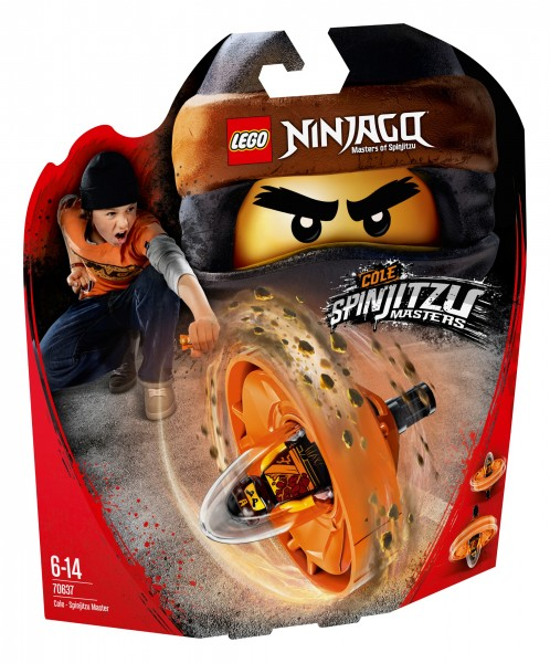 LEGO® Ninjago 70637 Spinjitzu-Meister Cole