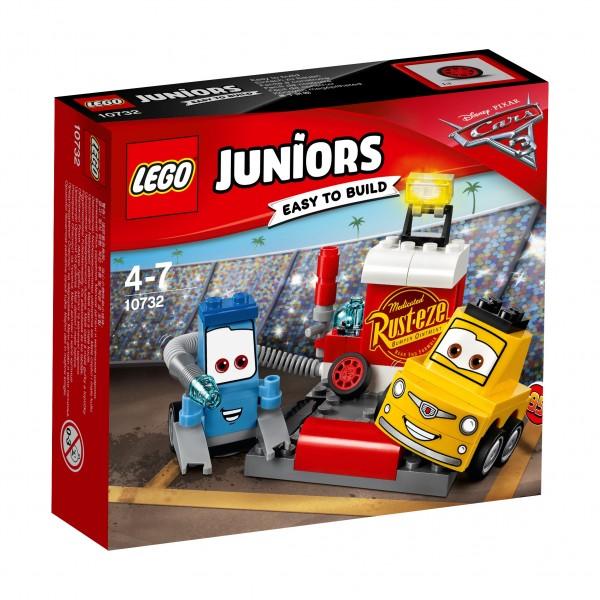 LEGO® Juniors 10732 Guido und Luigis Pit Stopp