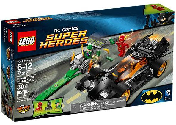 LEGO® DC Universe 76012 Batman: Die Riddler Verfolgung