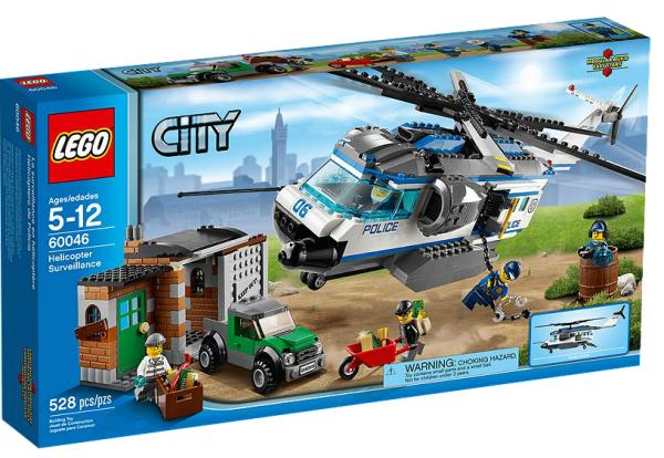 LEGO® CITY 60046 Verfolgung mit dem Polizei-Hubschrauber