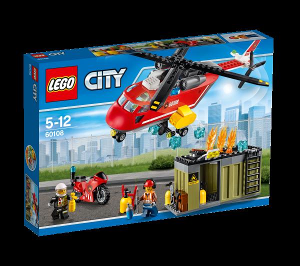 LEGO® CITY 60108 Feuerwehr-Löscheinheit