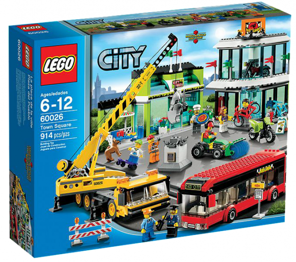 LEGO® CITY 60026 Stadtzentrum