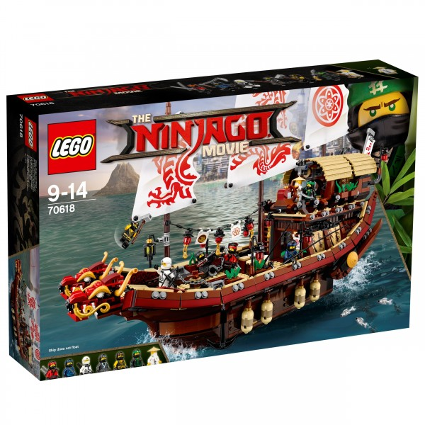 LEGO® Ninjago Movie 70618 Ninja-Flugsegler