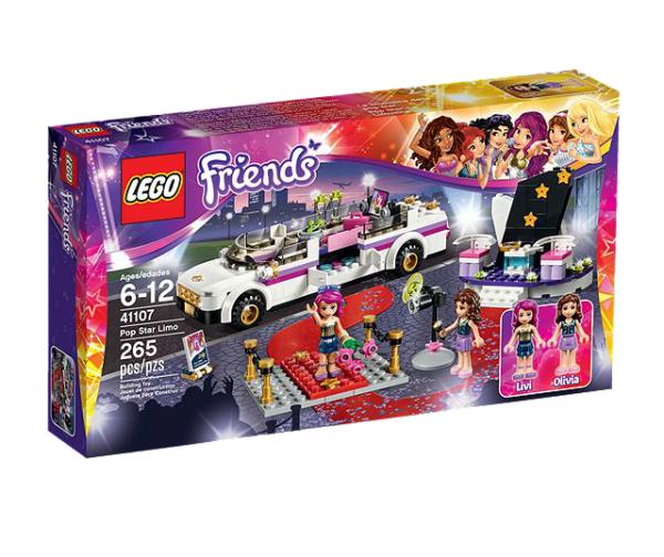 LEGO® Friends 41107 Popstar Limousine