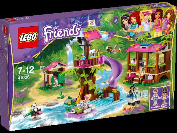 LEGO® Friends 41038 Große Dschungelrettungsbasis