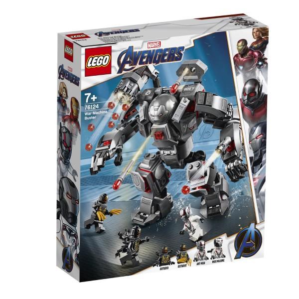 LEGO® Marvel Super Heroes 76124 War Machine Buster