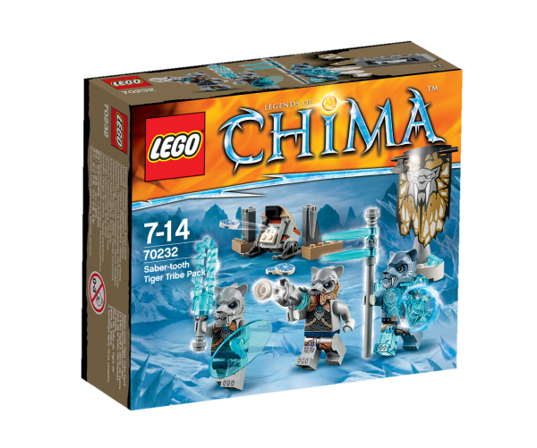 LEGO® Chima 70232 Säbelzahntigerstamm-Set