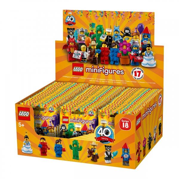 LEGO® 71021 Minifiguren Serie 18: Party - Thekendisplay