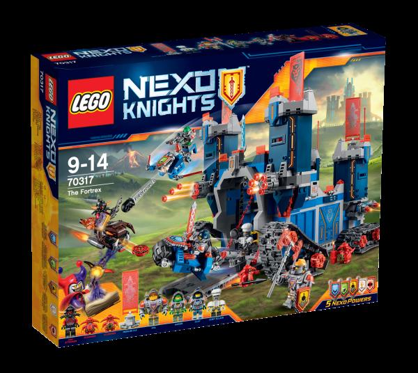 LEGO® Nexo Knights 70317 Fortrex - Die rollende Festung