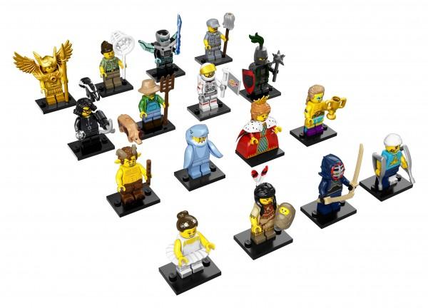 LEGO® Minifiguren Serie 15 - alle 16 Figuren