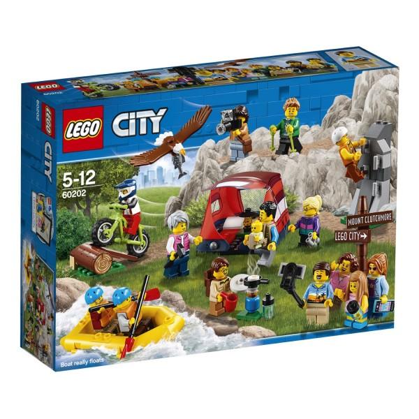 LEGO® CITY 60202 Stadtbewohner - Outdoor-Abenteuer
