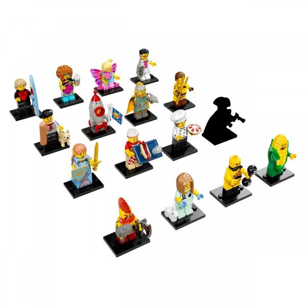 LEGO® 71018 Minifiguren Serie 17 - alle 16 Figuren