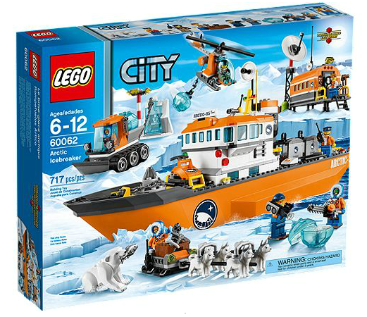 LEGO® CITY 60062 Arktis-Eisbrecher