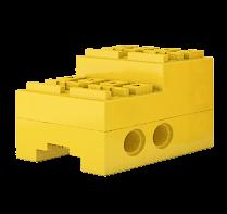 SBrick Case gelb