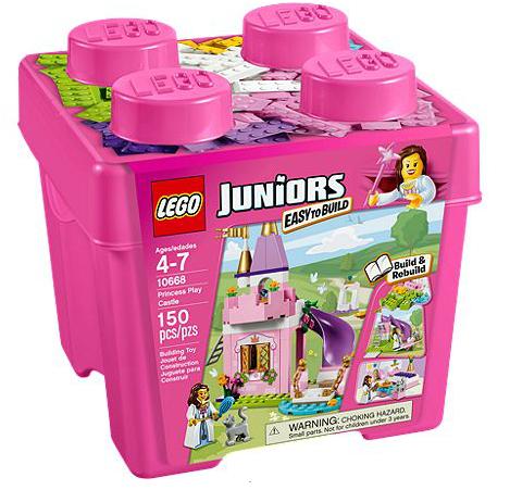 LEGO® Juniors 10668 Starter Steinebox Prinzessinnenschloss