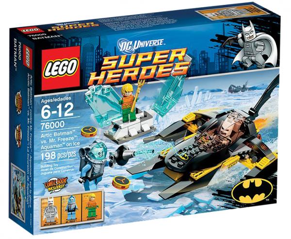 LEGO® DC Universe 76000 Arktischer Batman vs. Mr. Freeze: Aquaman auf dem Eis